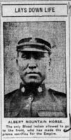 MOUNTAIN HORSE, ALBERT