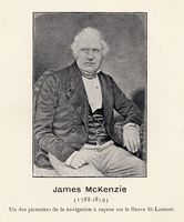 McKENZIE, JAMES (1788-1859)